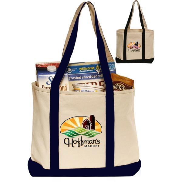 12oz Heavyweight Cotton Canvas Beach Bags
