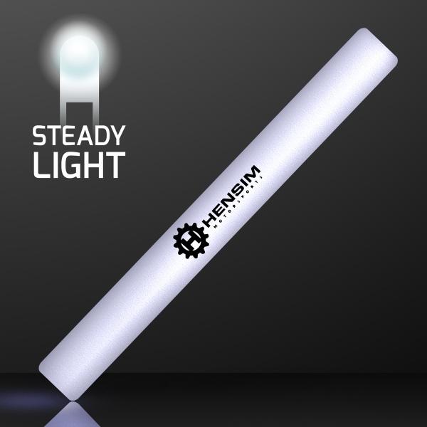 """16"""" Steady White Light LED Cheer Sticks"""