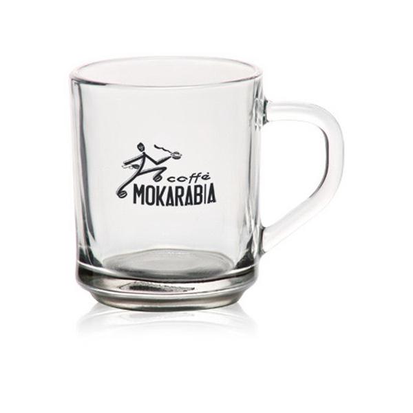 Clear 7.75 coffee mug