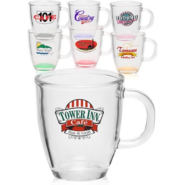 Clear 11.75 oz. coffee mug