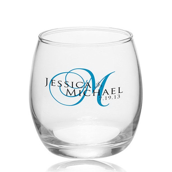 11.5 oz. Mikonos Clear Stemless Wine Glasses