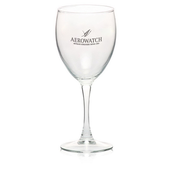 Clear 10.5 oz nuance goblet wine glass