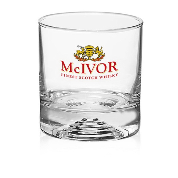 Clear 9.25 oz Malaga whiskey glass