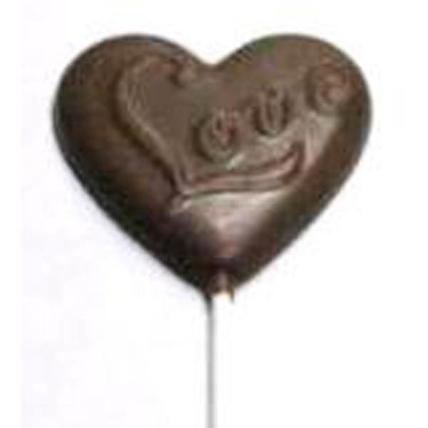 "Chocolate Heart ""Love"""