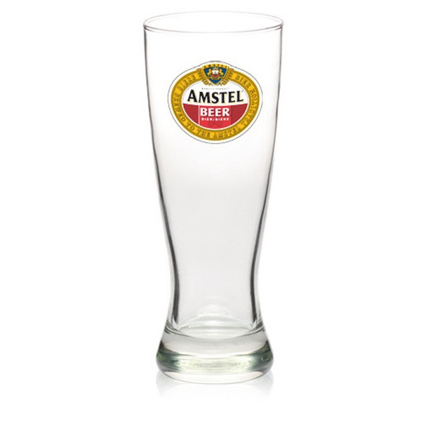 Clear Luminarc (R) pilsner beer glass