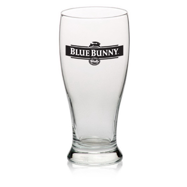 Clear Libbey (R) 19 oz pilsner beer glass