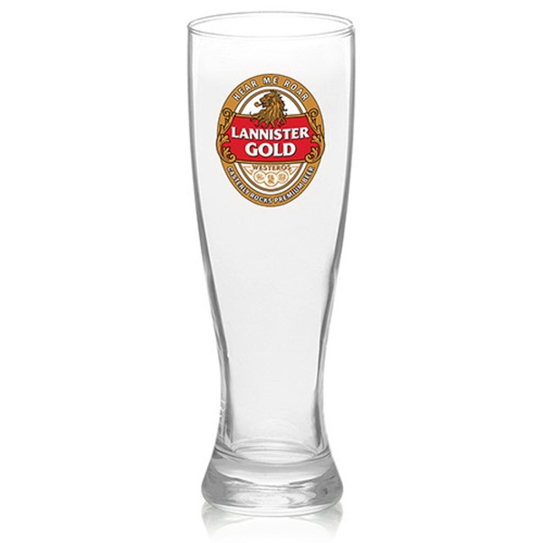 Clear 16 oz Arc Granc pilsner glass
