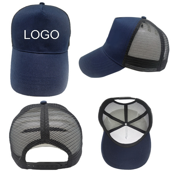Ball Cap With Mesh