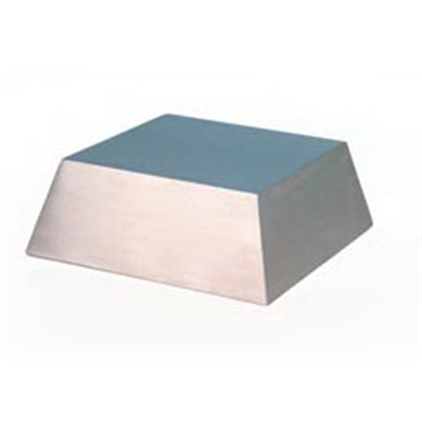 Medium Silver Metal Slanted Base