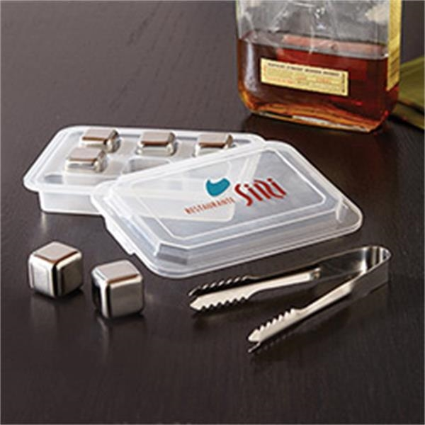 Stainless Steel Ice Cube Tray Set