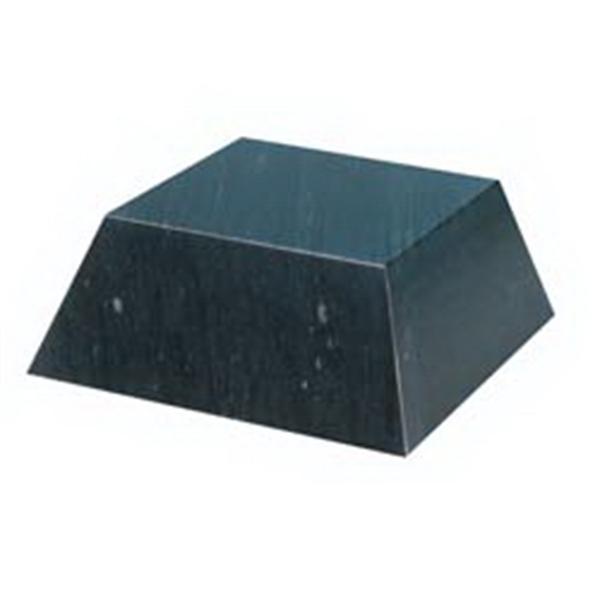 Small Black Marble Pyramid Base
