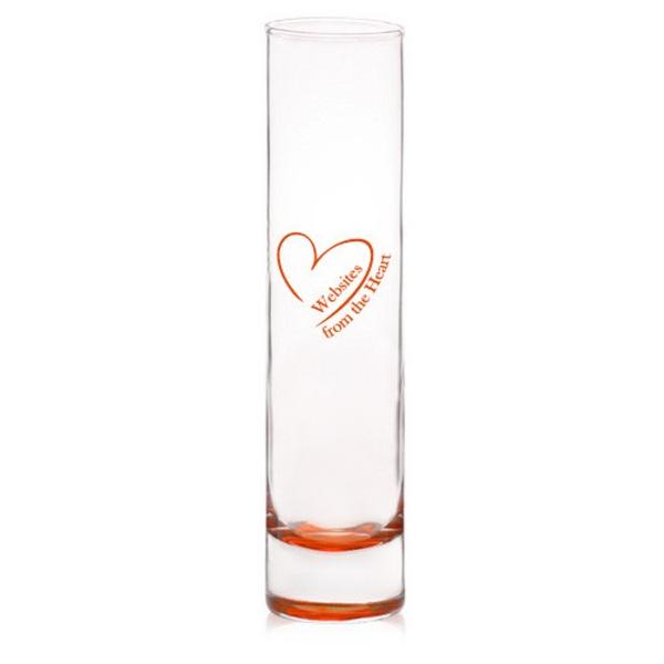 7.5 oz cylinder bud glass