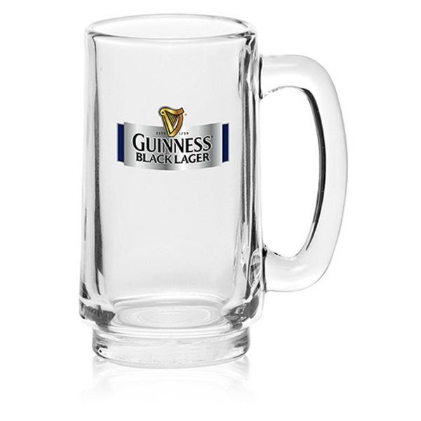 Clear 10.5 oz handled mug