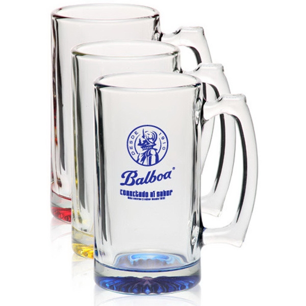 Clear Libbey 25 oz sports beer mug