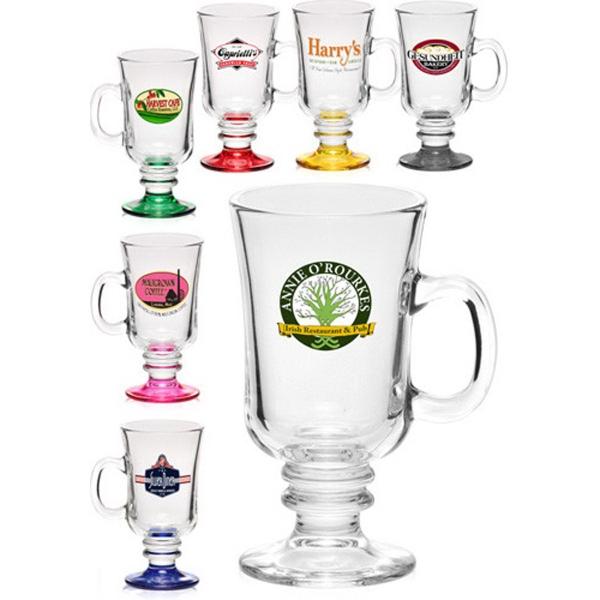 Clear Libbey 8.5 oz Irish coffee mug