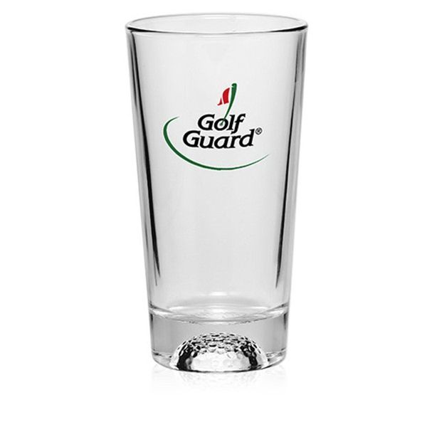 Clear 16 oz Libbey golf pint glass