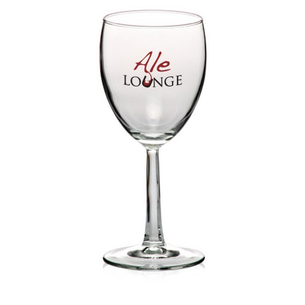 Clear 8.5 oz grand noblesse white wine glass