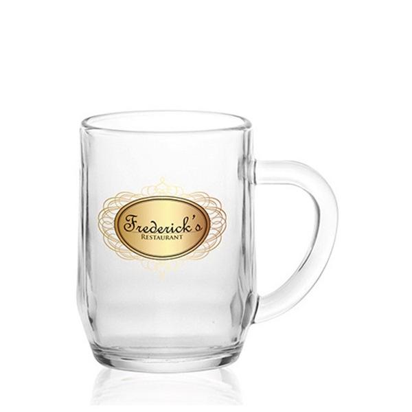 Clear Libbey 10 oz glass all purpose mug