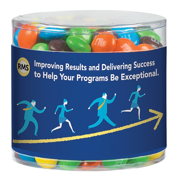 Clear Snack Container With M&Ms®
