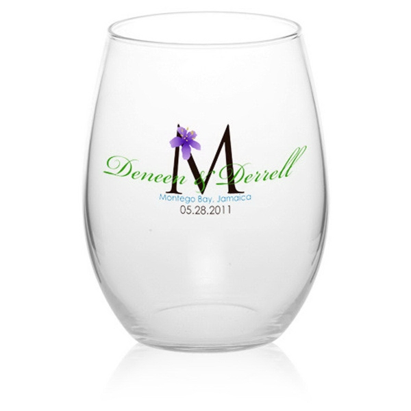 Clear 21 oz Arc perfection stemless wine glass
