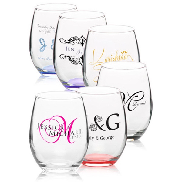 Clear 9 oz Arc perfection stemless wine glass
