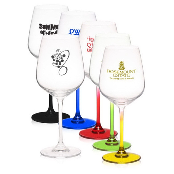17.5 oz 100% Lead free crystal wine glass