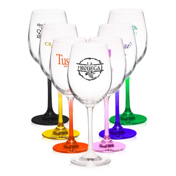 13.8 oz 100% Lead free crystal wine glass