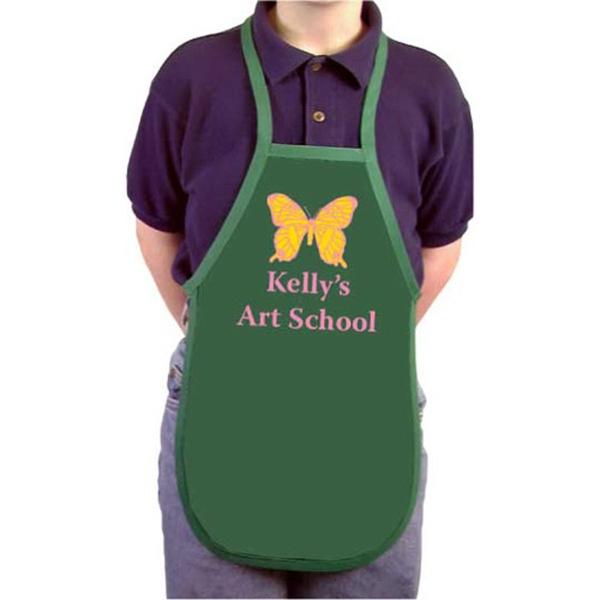 "Youth size apron 18"" long"