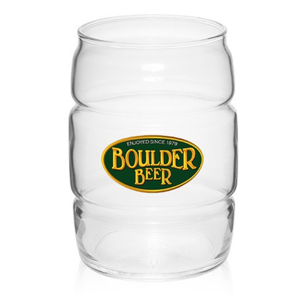 ARC 16 oz Barrel Cooler Glasses Clear