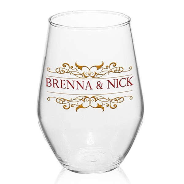 11 oz ARC Concerto Stemless Wine Glass