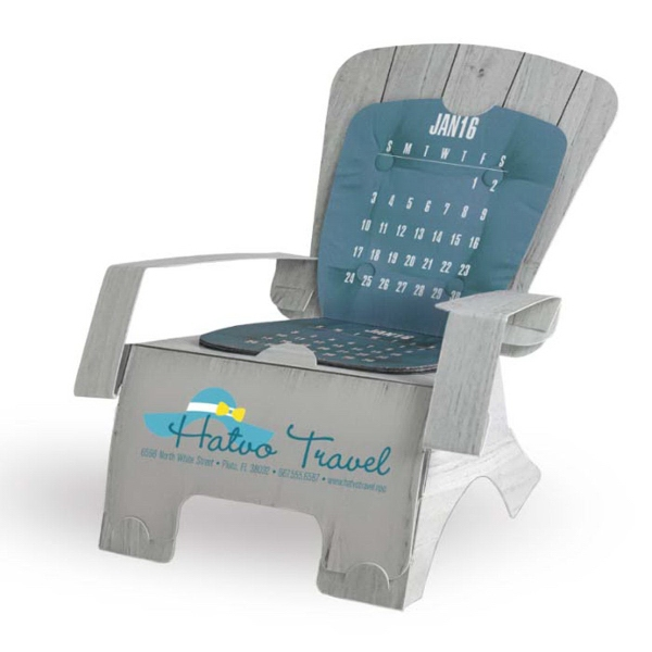 Beach Chair Die-Cut Desk