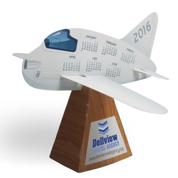 3D Airplane Die-Cut Desk