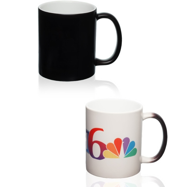 11oz Color Changing Magic Photo Mug