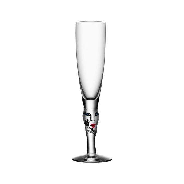 Kosta Boda Open Minds Champagne Glass
