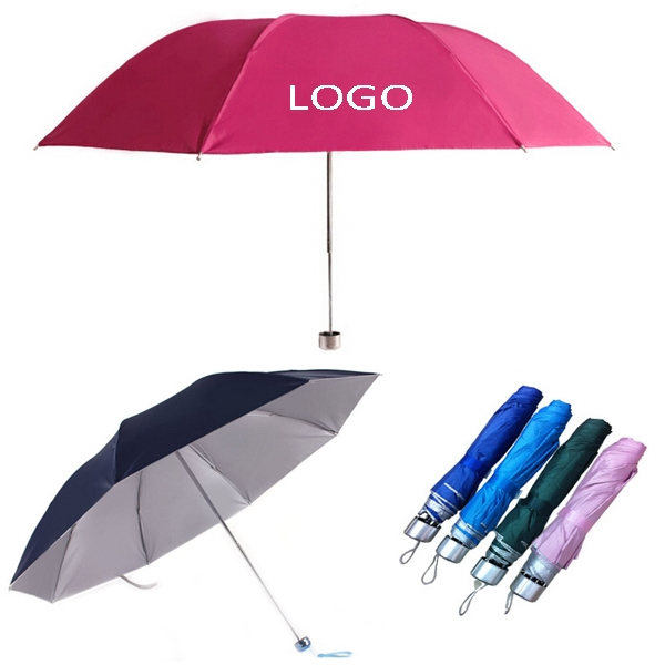 3 Fold Custom Umbrella