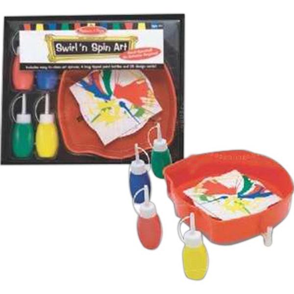 Swirl'n Spin Art Kit