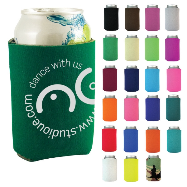 "Best Value Can Cooler - Can Cooler with 1/8"" thick foam wall."
