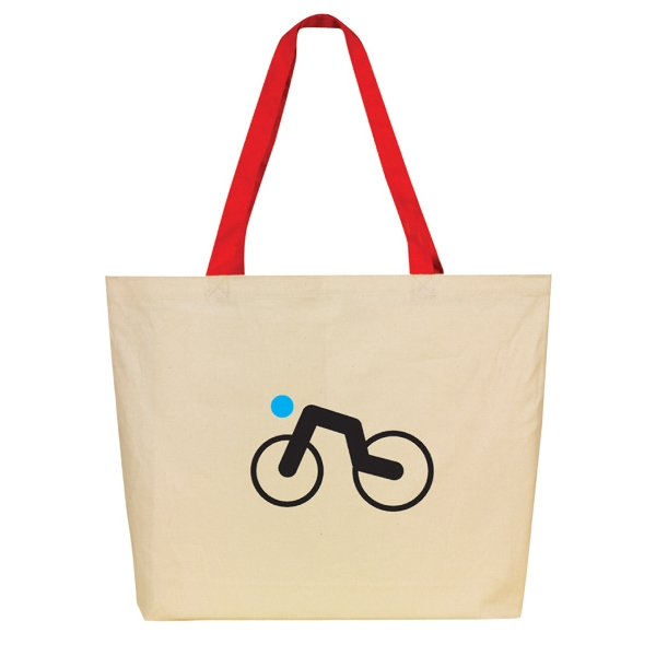 Durable Canvas Tote Bag