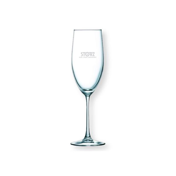 8.5 oz. The Sparkler Champagne Flute Glass
