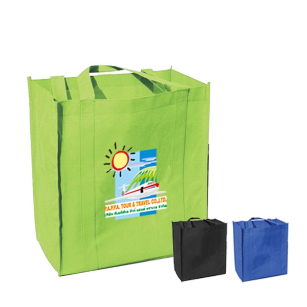 "10"" Gusset Eco Grocery Tote"