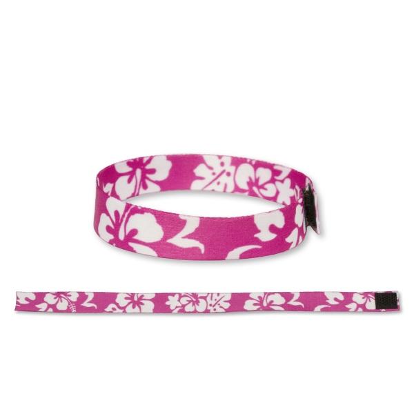 "Wristband1/2""with Velcro Latch Ultra Material Dye Sublimated"