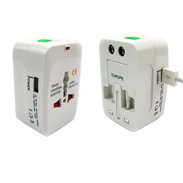 Universal Power Adapter With USB