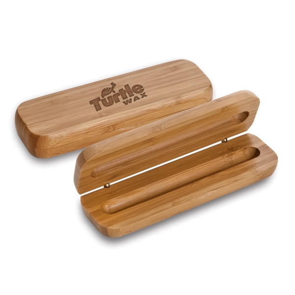 SINGLE BAMBOO PEN BOX
