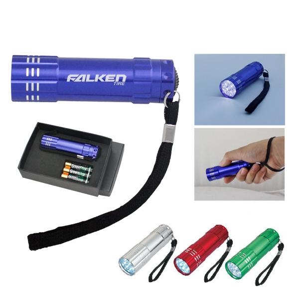 Pocket LED Flashlight Gift Set