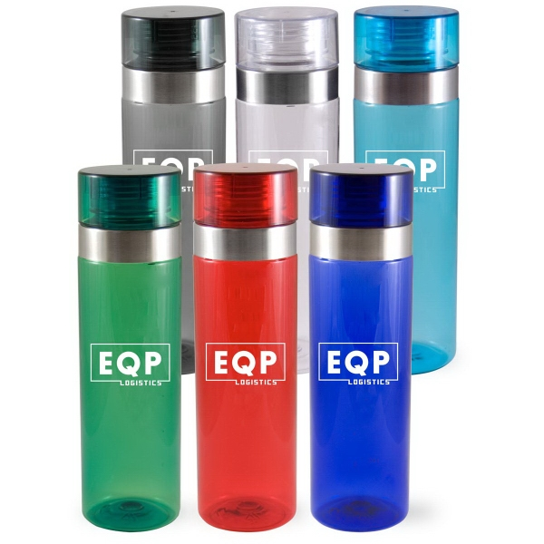 27oz Tinted Sports Bottle with Screw On Lid