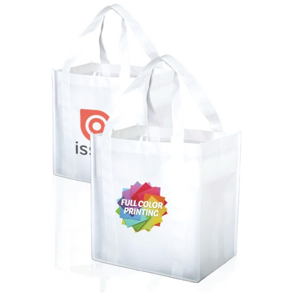 Full Color Printed Grocery Tote Bag
