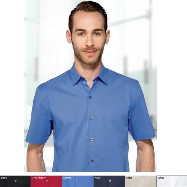 Men's Gavin Stretch Poplin Short Sleeve Shirt
