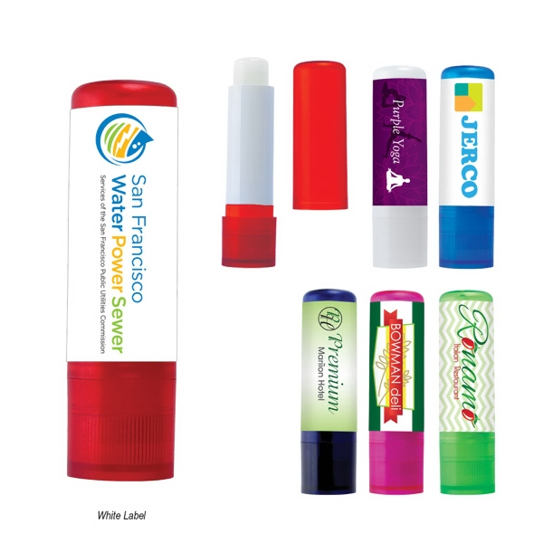 Lip Balm in Color Tube With SPF15 Sun Protection