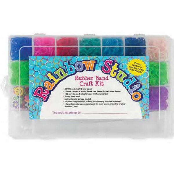 Rainbow Studio Rubber Band Craft Kit