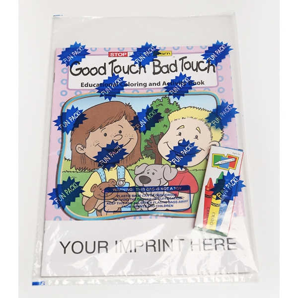 good touch bad touch coloring and activity book fun pack - Good Touch Bad Touch Coloring Book